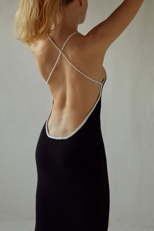 Musier - Robe mi longue en maille
