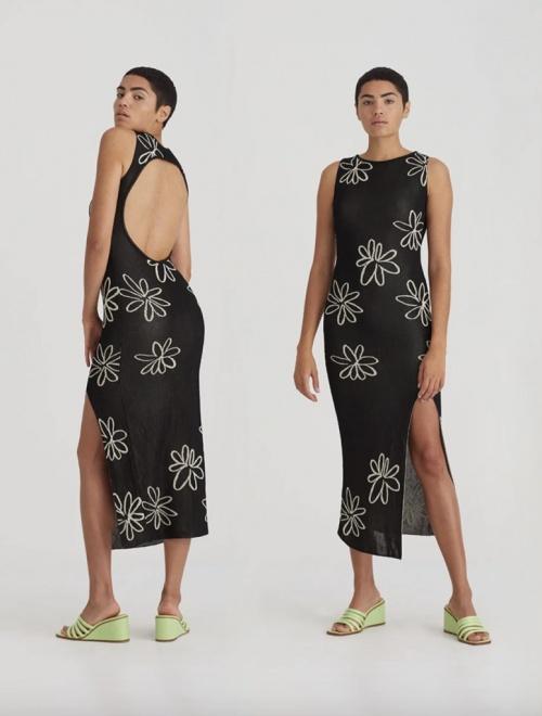 Paloma Wool - Robe dos ouvert