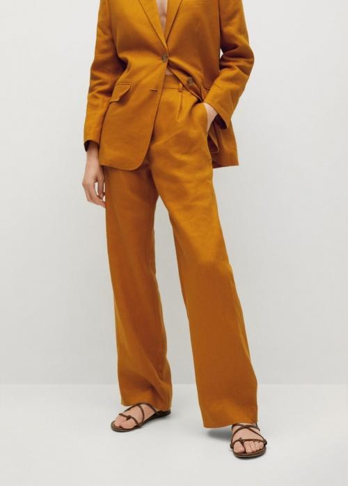 Mango - Pantalon en lin