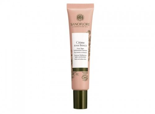 Sanoflore - Crème hydratante légère Rosa Fresca