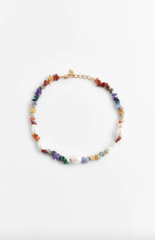 Zara - Collier à pierres et perles