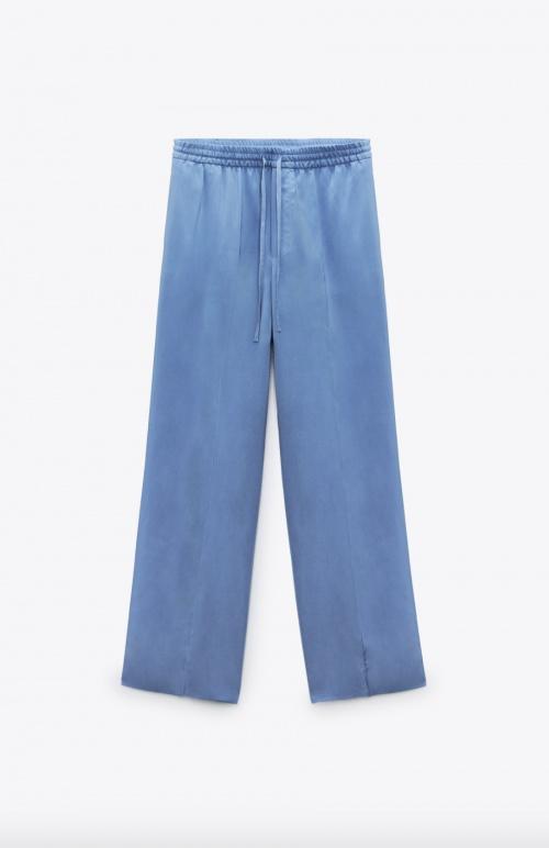 Zara - Pantalon fluide