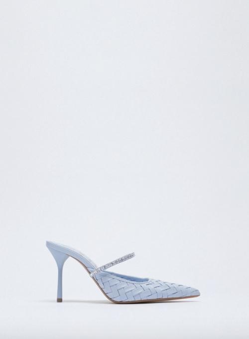 Zara - Chaussures à talons tressées