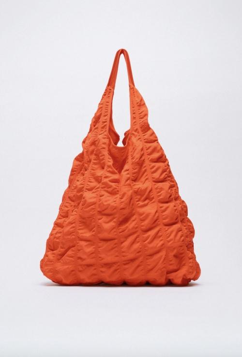 Zara - Sac shopper en tissu technique