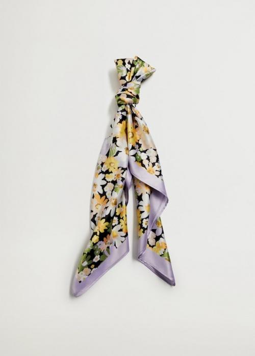 Mango - Foulard imprimé fleurs