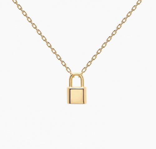 PDPAOLA - Collier pendentif cadenas