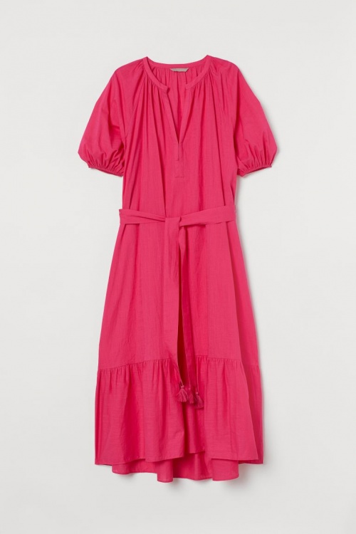 H&M+ - Robe à ceinture