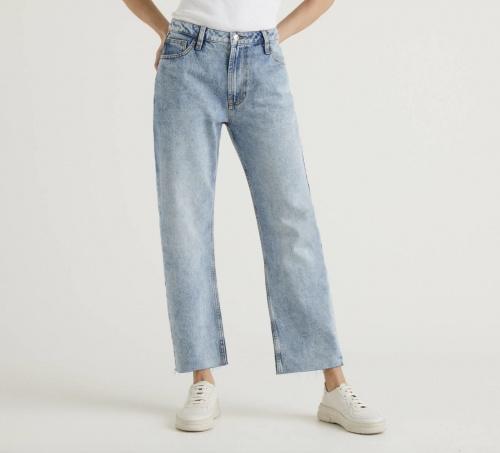 United Colors of Benetton - Jean cinq poches avec coupe droite