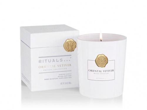 Rituals - Private Collection - Oriental Vetiver - élégante bougie parfumée - 360 g