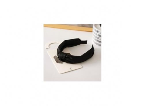 Mon Bandana - Serre-tête Noir Headband Style Soie