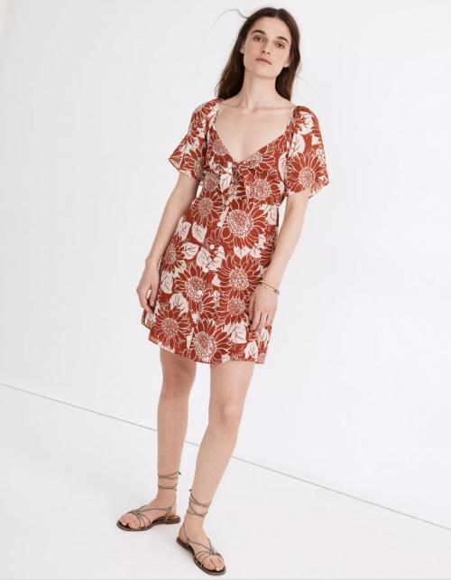 Madewell - Robe fleurie
