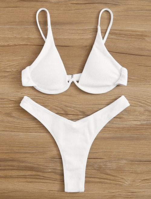 Desconocida - Bikini à armatures en V