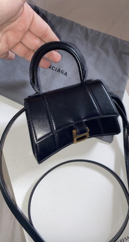 Balenciaga - Mini sac à main Hourglass