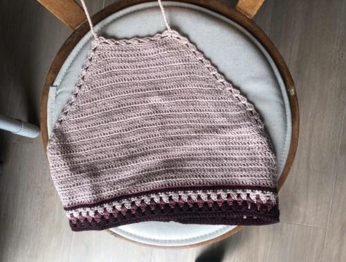 Pull & Bear - Top en crochet