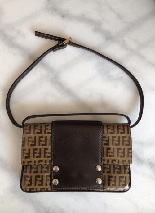Fendi - Petit sac vintage monogrammé