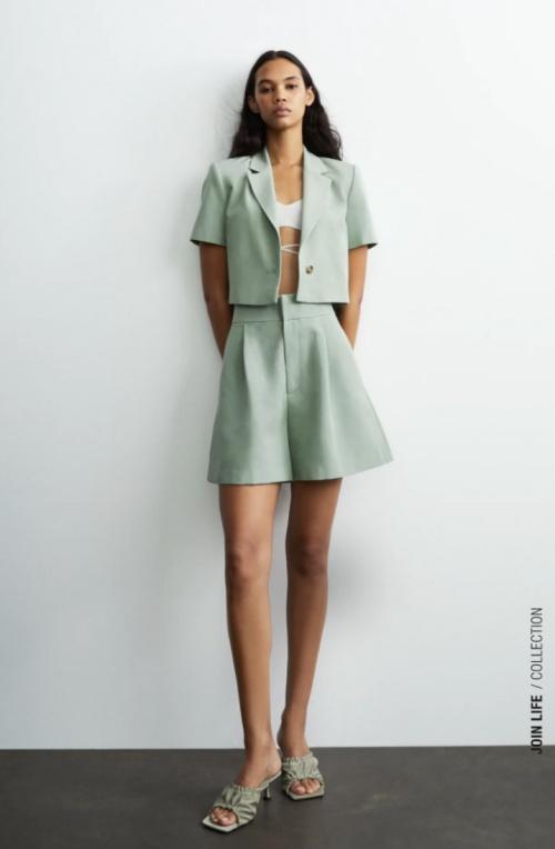 Zara - Short en lin
