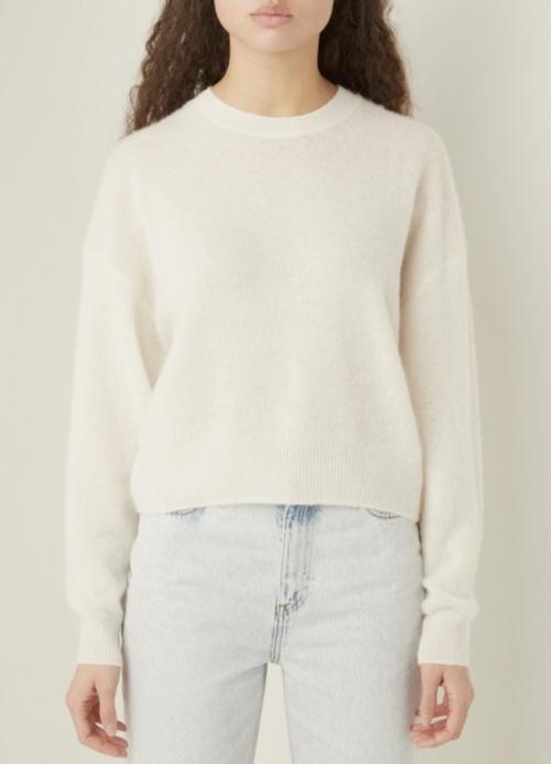American Vintage - Pull blanc