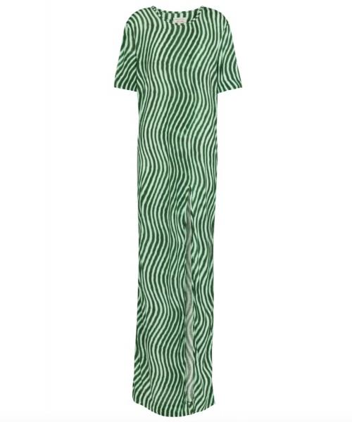 Dries Van Noten - Robe longue fendue