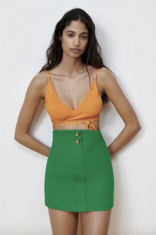 Zara - Mini jupe
