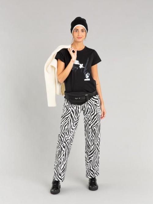 Agnès B - Pantalon imprimé