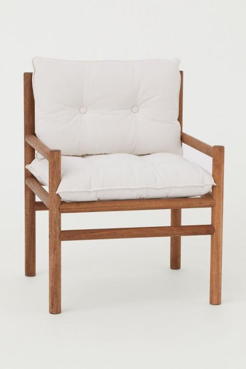 H&M Home - Chaise en bois