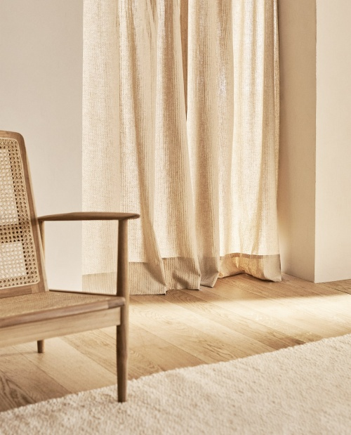 Zara Home - Rideau en lin