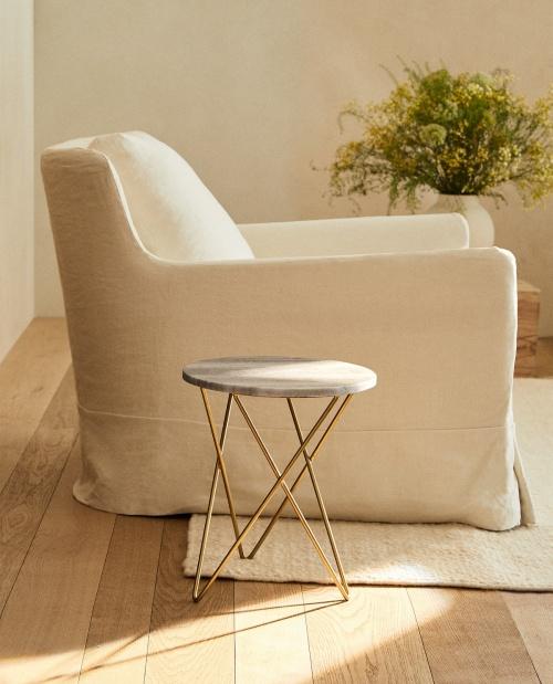 Zara Home - Table en marbre