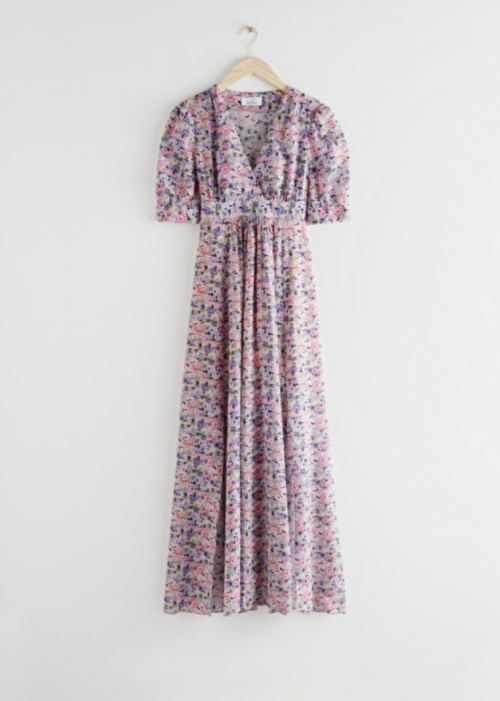 &Otherstories - Robe longue fleurie