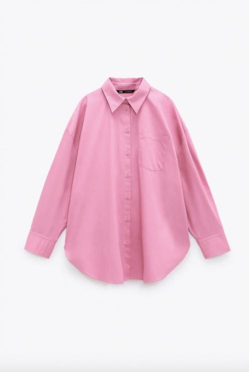 Zara - Chemise rose