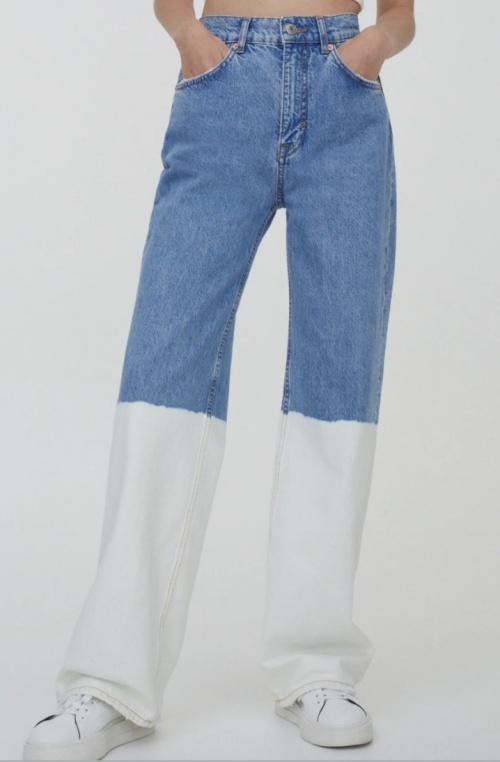 Pull & Bear - Jean tie and dye