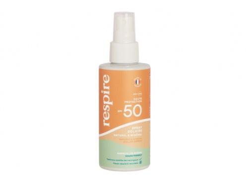 Respire - Spray solaire naturel et minéral SPF50