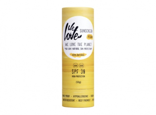 We Love The Planet - Stick solaire naturel SPF30