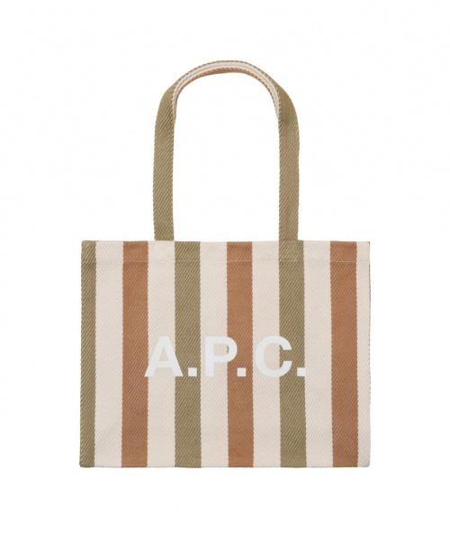 A.P.C - Tote Bag en toile rayée