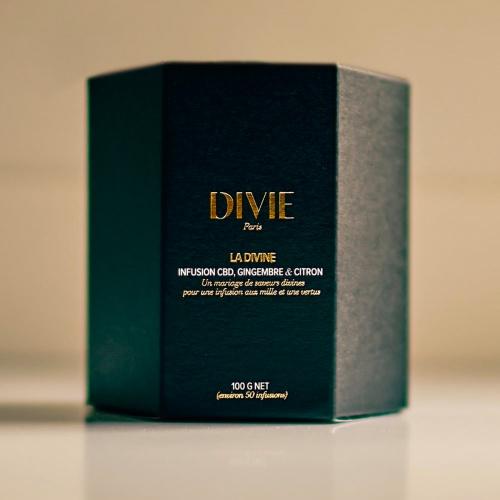 Divie - Tisane 'La Divine' au CBD