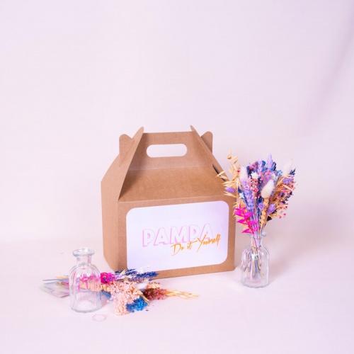 Pampa - Kit DIY bouquet de fleurs séchées