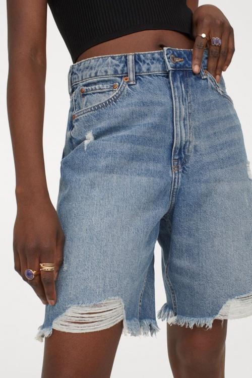 H&M - Bermuda en jean