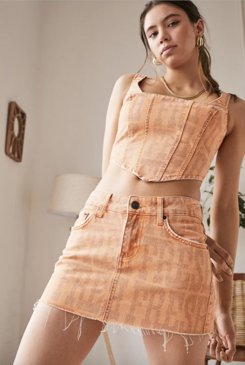 Urban Outfitters - Mini jupe