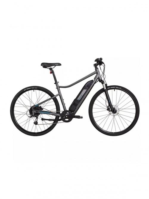 Décathlon - Vélo tout chemin électrique Riverside 500 E gris vert