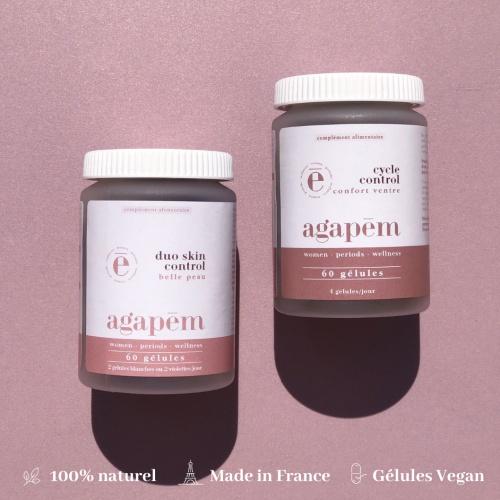 Agapem - Coffret Best seller Acné hormonale & règles douloureuses