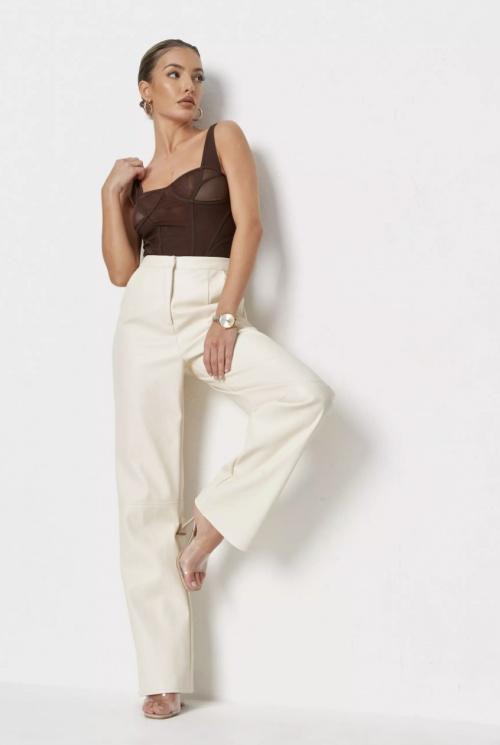 Miss Guided - Pantalon en simili cuir