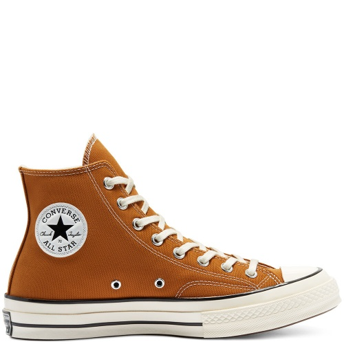 Converse - Sneakers montantes marron