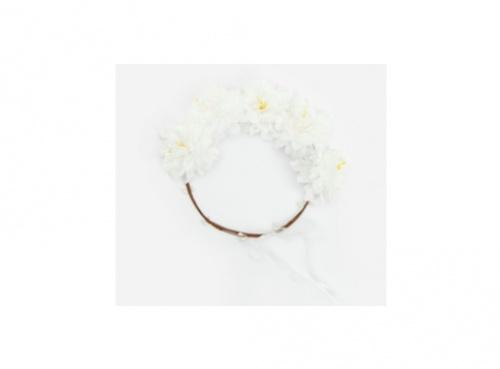 Reserved - Serre-tête orné de fleurs