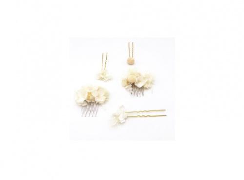 Les Fleurs Dupont - Set peigne et pics Nimbe