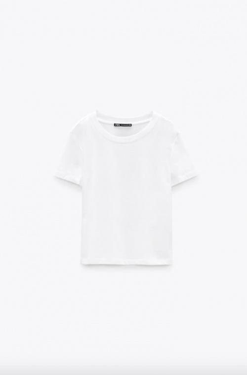 Zara - Top manches courtes