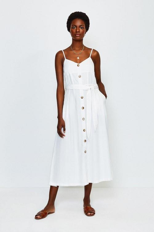Karen Millen - Robe blanche