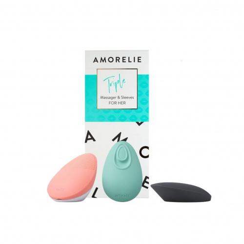 AMORELIE - Triple stimulateur clitoridien