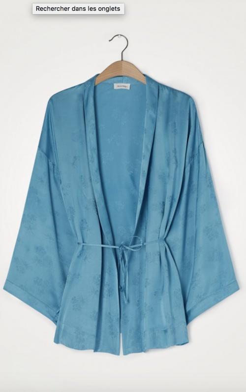 American Vintage - Kimono en viscose