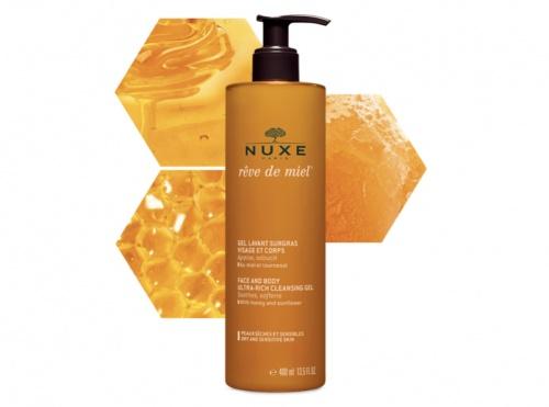 Nuxe - Gel lavant surgras visage et corps Rêve de Miel®