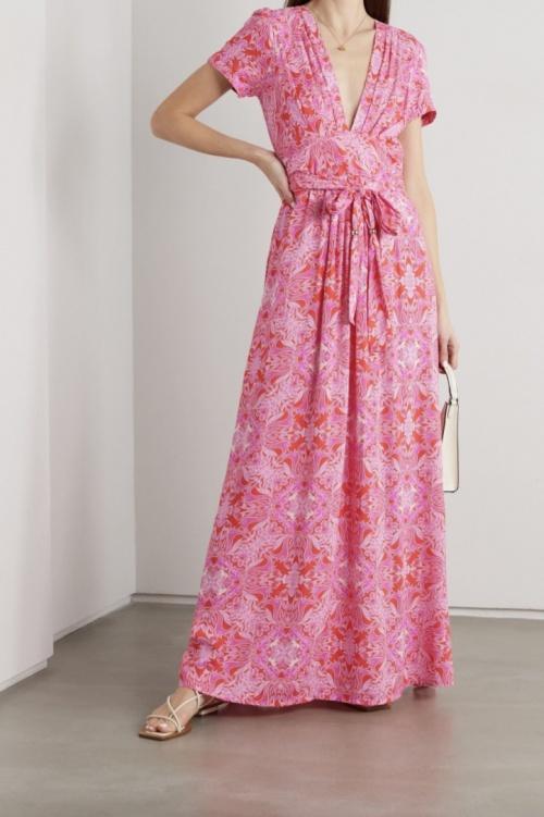 Melissa Odabash - Robe longue fleurie