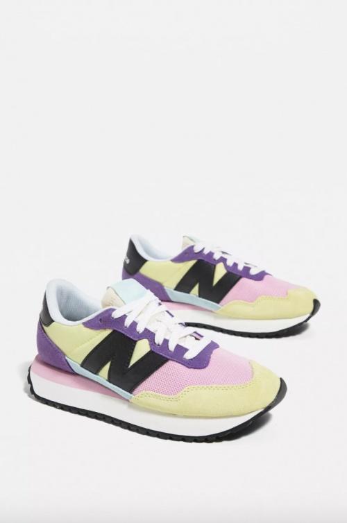 New Balance - Baskets pastels